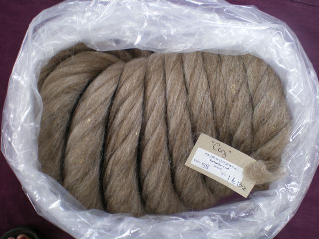 Icelandic Wool Roving 'Cory' | | My Sisters' Farm